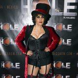 Anabel Alonso en su estreno como maestra de ceremonias de 'The Hole'