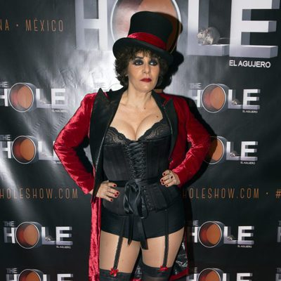 Anabel Alonso en su estreno como maestra de ceremonias de 'The Hole'