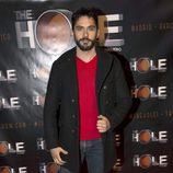 Paco León en el estreno de Anabel Alonso como maestra de ceremonias de 'The Hole'
