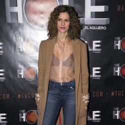 Lidia San José en el estreno de Anabel Alonso como maestra de ceremonias de 'The Hole'
