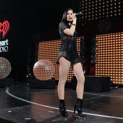 Jessie J en el concierto navideño 'Y100 Jingle Ball 2014'