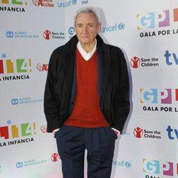 Luis del Olmo en la Gala por la Infancia de TVE