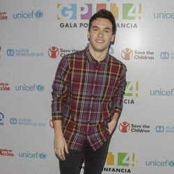 Ricardo Gómez en la Gala por la Infancia de TVE