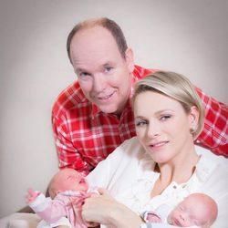 Primeras imágenes de Jacques y Gabriella de Mónaco con sus padres