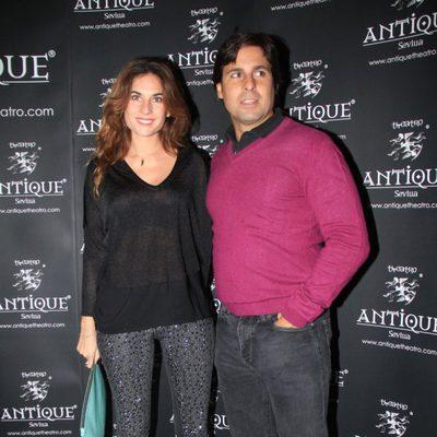 Fran Rivera junto a Lourdes Montes en un concierto de José Manuel Soto en Sevilla
