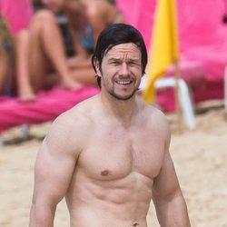 Mark Wahlberg en sus vacaciones navideñas en Barbados