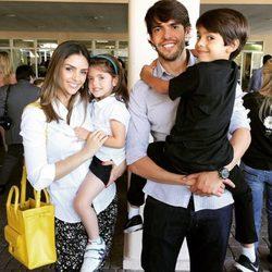 Kaká y Caroline Celico pasan las navidades en familia a pesar de haber anunciado su separación