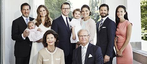 La Familia Real Sueca al completo