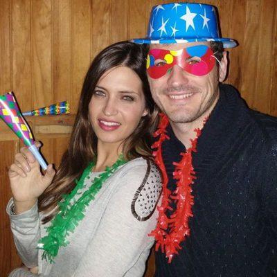 Iker Casillas y Sara Carbonero felicitan el año 2015