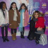 Melani Olivares en el concierto de Violetta en Madrid