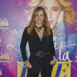 Mar Regueras en el concierto de Violetta en Madrid