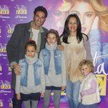 Óscar Higares en el concierto de Violetta en Madrid