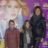 Nuria González en el concierto de Violetta en Madrid