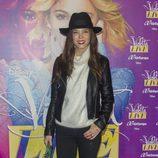 Juana Acosta en el concierto de Violetta en Madrid