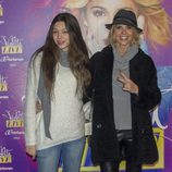 Arancha de Benito en el concierto de Violetta en Madrid