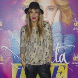 Raquel Meroño en el concierto de Violetta en Madrid