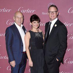 Patrick Stewart, Carla Gugino y Matthew Lillard en el Festival de Palm Springs 2015