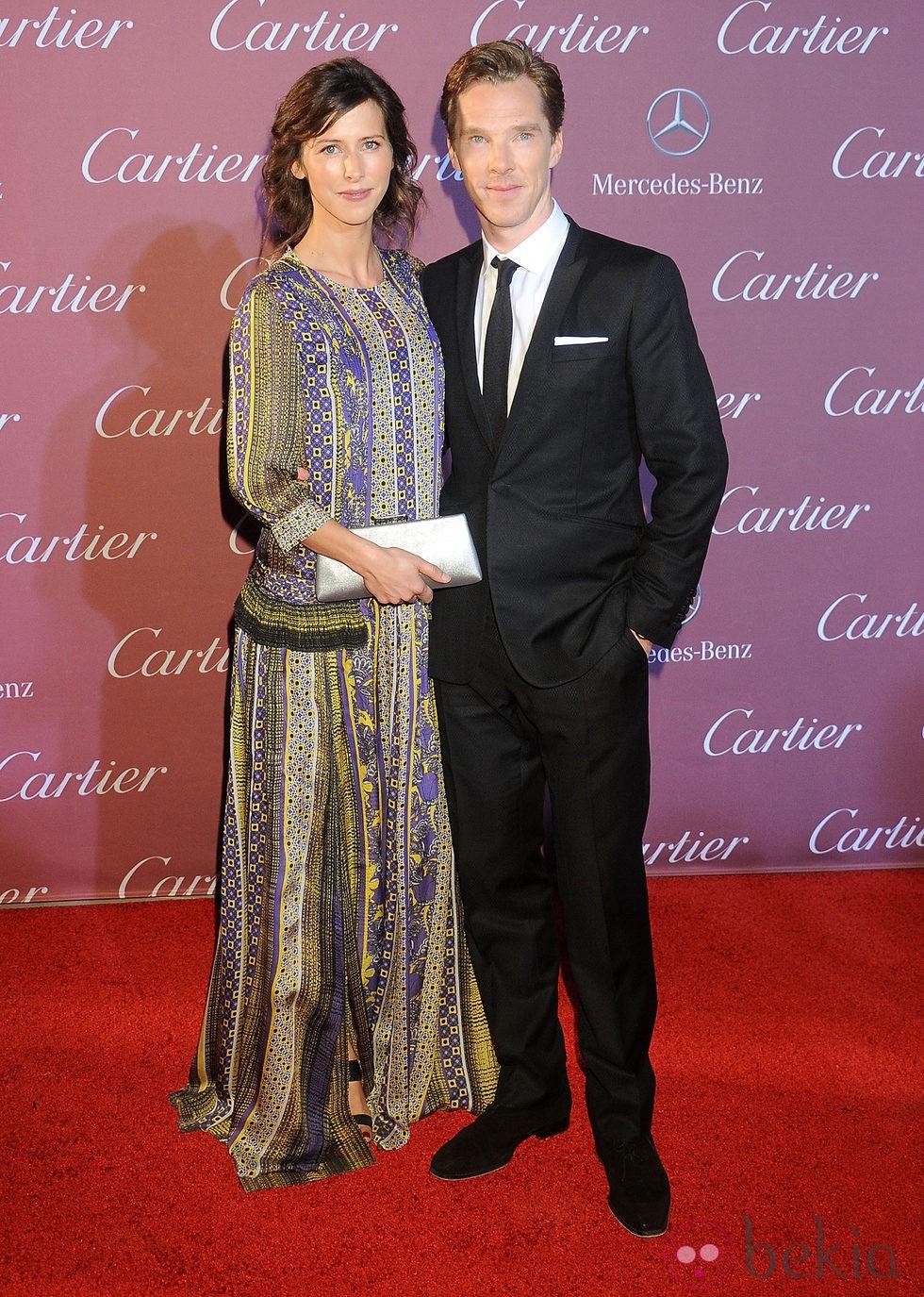 Sophie Hunter y Benedict Cumberbatch en el Festival de Palm Springs 2015