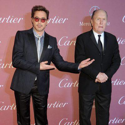 Robert Downey Jr. y Robert Duvall en el Festival de Palm Springs 2015