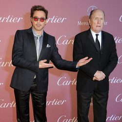Robert Downey Jr. y Robert Duvall en el Festival de Palm Springs 2015