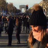 Natalia Sánchez se despide de París tras recibir allí el año 2015