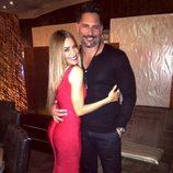 Sofía Vergara y Joe Manganiello dieron la bienvenida a 2015 en Las Vegas