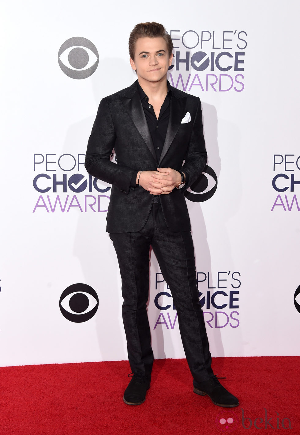 Hunter Hayes en los People's Choice Awards 2015