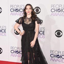 Kat Dennings en los People's Choice Awards 2015