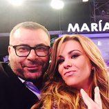 Jorge Javier Vázquez con María José Campanario en 'Hay una cosa que te quiero decir'