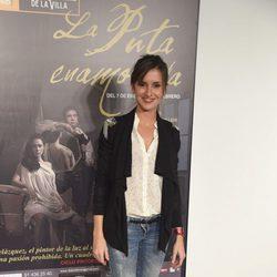 Marina San José en el estreno de 'La Puta Enamorada'