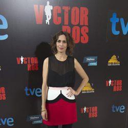 Lola Marceli en la presentación de 'Víctor Ros'