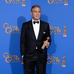 George Clooney, premio honorífico de los Globos de Oro 2015
