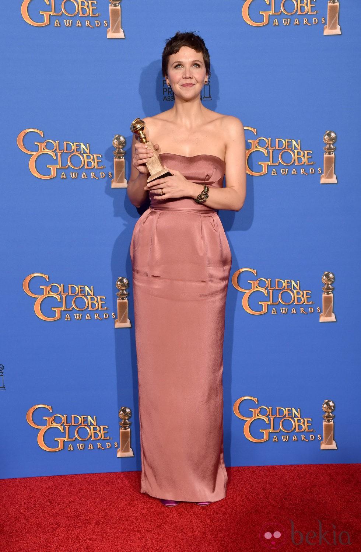 Maggie Gyllenhaal, mejor actriz de una mini-serie en los Globos de Oro 2015