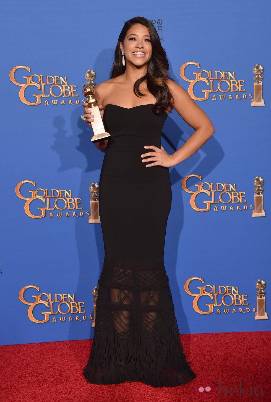 Gina Rodriguez, mejor actriz de comedia en los Globos de Oro 2015