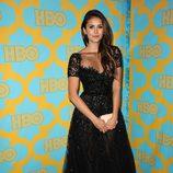 Nina Dobrev en la fiesta tras los Globos de Oro 2015