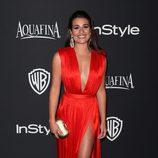 Lea Michele en la fiesta organizada por Warner tras los Globos de Oro 2015