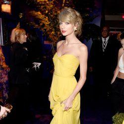 Taylor Swift en la fiesta organizada por Warner tras los Globos de Oro 2015