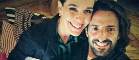 Raquel Sánchez Silva con Matías Dumont en el día de su 42 cumpleaños