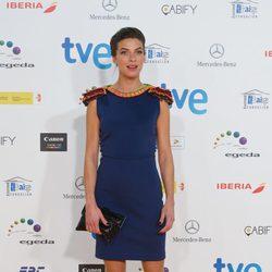 Natalia Tena en la alfombra roja de los Premios José María Forqué 2015