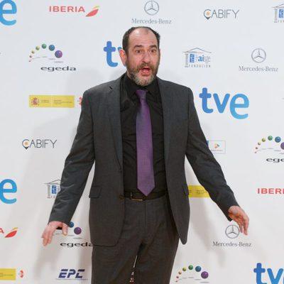 Karra Elejalde en la alfombra roja de los Premios José María Forqué 2015