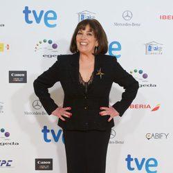 Carmen Maura en la alfombra roja de los Premios José María Forqué 2015