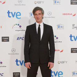 Ernesto Alterio en la alfombra roja de los Premios José María Forqué 2015