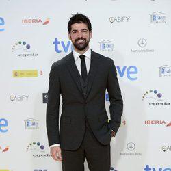 Miguel Ángel Muñoz en la alfombra roja de los Premios José María Forqué 2015
