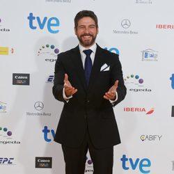 Félix Gómez en los Premios José María Forqué 2015