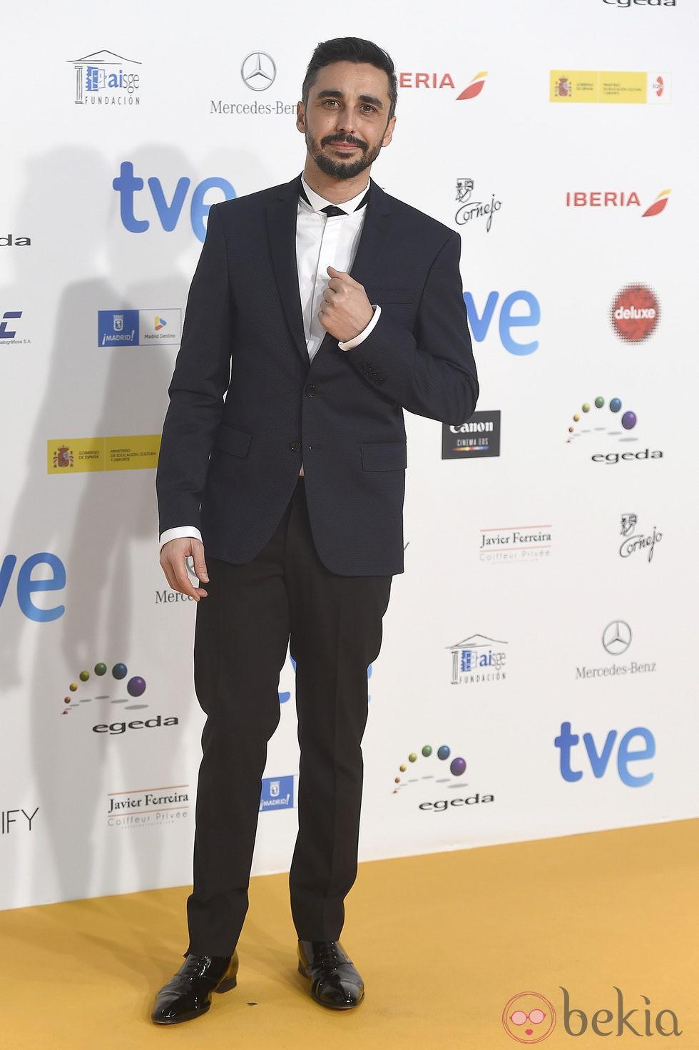 Canco Rodríguez en los Premios José María Forqué 2015