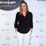 Melani Costa en la inauguración de un espacio gourmet