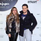 Manu Tenorio y Silvia Casas en la inauguración de un espacio gourmet