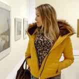 Nicole Kimpel de visita en el Museo Thyssen de Málaga