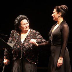 Montserrat Caballé vuelve a los escenarios con su hija Montserrat Martí tras saldar su deuda con Hacienda
