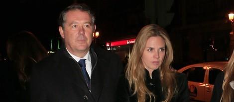 José María Michavila y Genoveva Casanova confirman su noviazgo en la misa funeral por Victoriano Cuevas